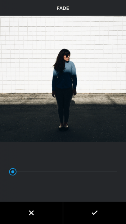 instagram fade and color tools