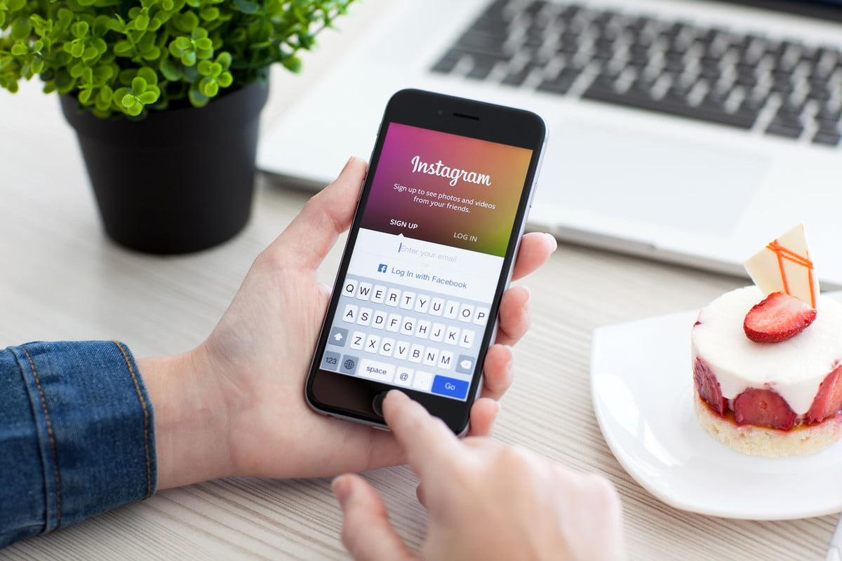 how to manage multiple instagram accounts keyboard app take pictures photos pics