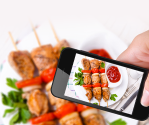 Deleting your Instagram food porn could help feed the hungry