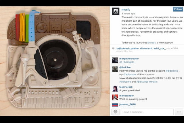 instagram launches music a community for musicians and fans