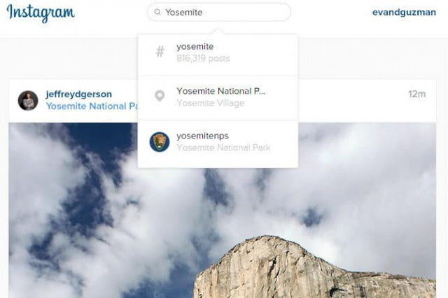 instagram at last brings search to web version