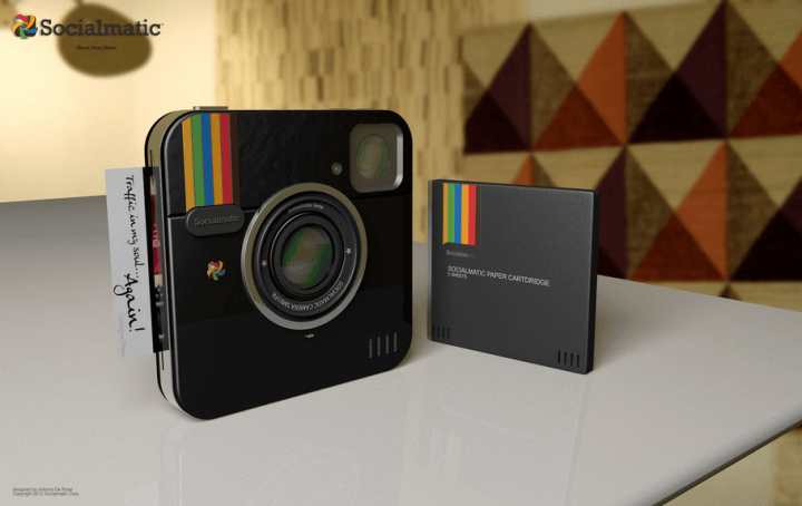 instagram socialmatic the concept camera inches closer to reality