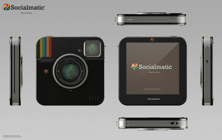 instagram socialmatic the concept camera inches closer to reality all angles