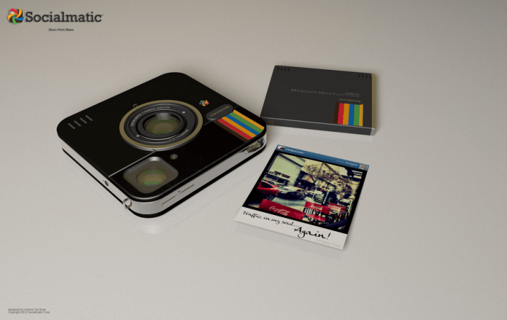 instagram socialmatic the concept camera inches closer to reality prints cartridge