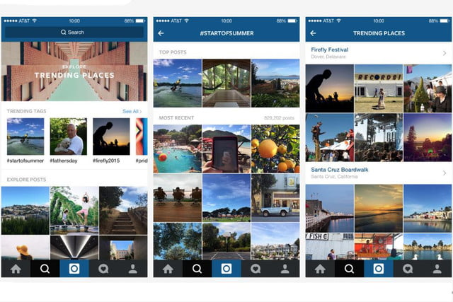 instagram update focuses on live events