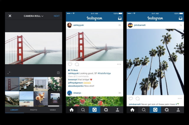 just press harder instagram experimenting with  d touch ads and apple pay landscape portrait
