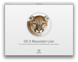 OS X Mountain Lion Installer