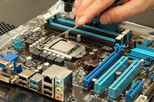 security research modified cpu installing head