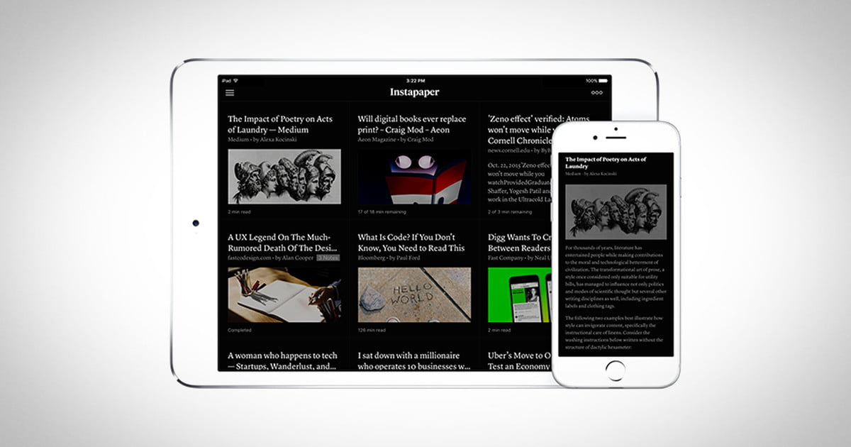 Pinterest Makes Instapaper's Premium Features Free to Use ...
