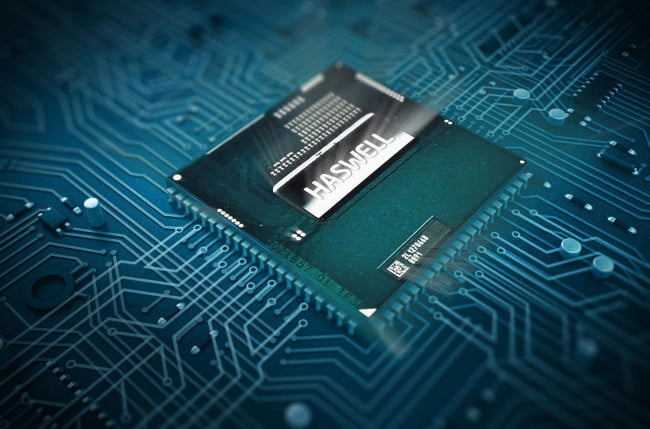 Intel 4th gen haswell chip