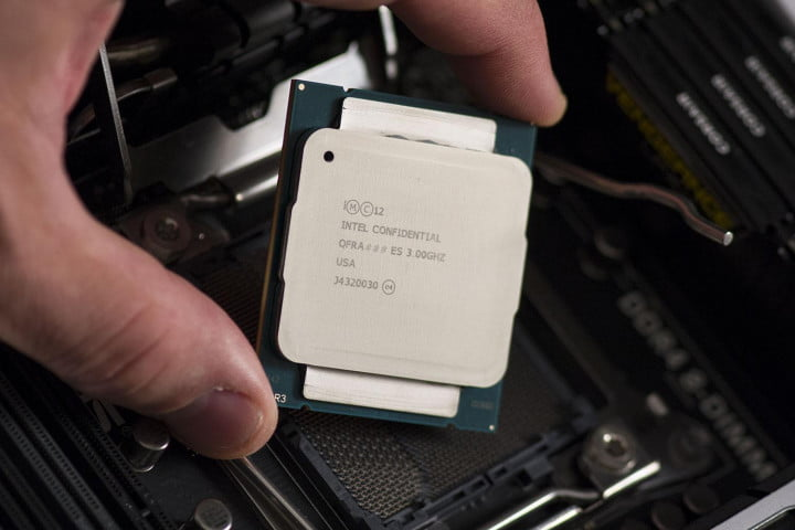 intel core i  x review in hand