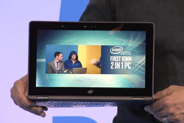 intel cannon lake  nm processor teased in ces pc