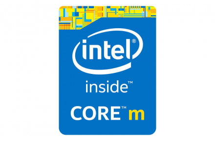 Intel Core M Broadwell Y badge