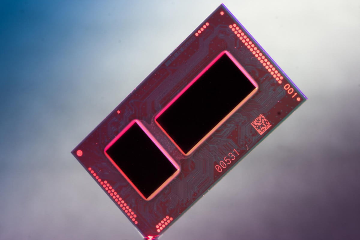 first intel core m benchmark scores released broadwell yl package diagonal