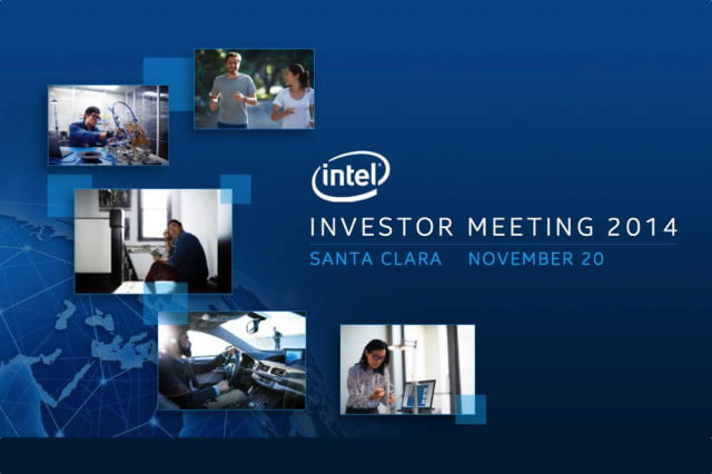 want buy pc holiday intels latest roadmap makes wise move intelinvestormeeting