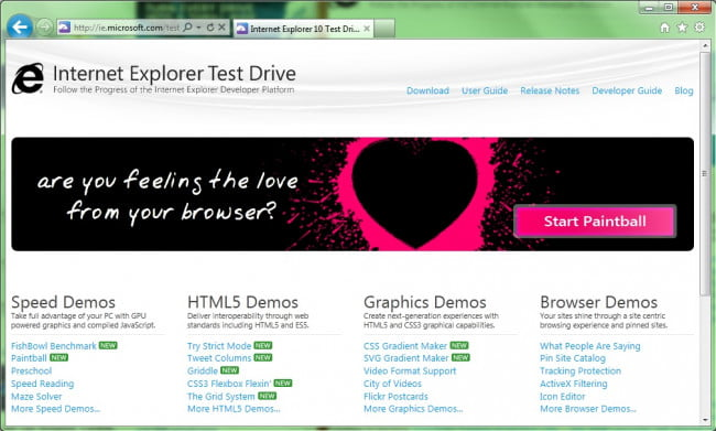 internet-explorer-10-platform-preview-dev-test-site