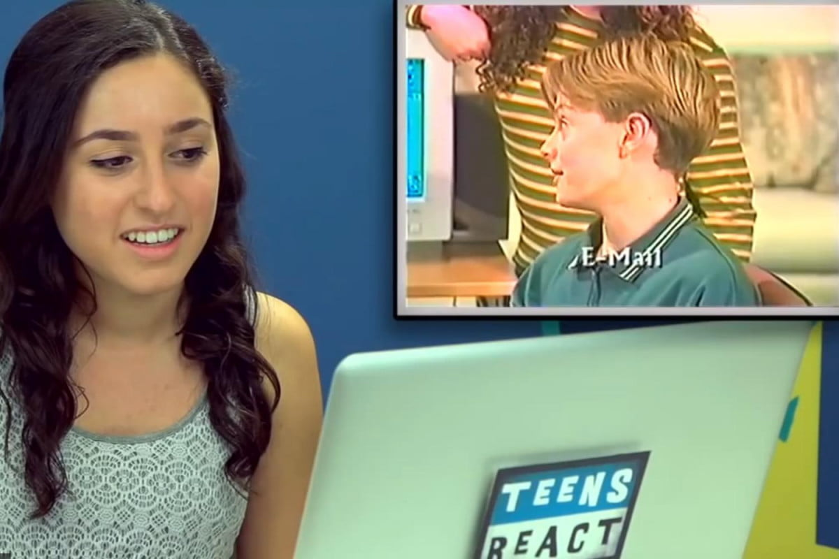 teens react introductory video internet  s