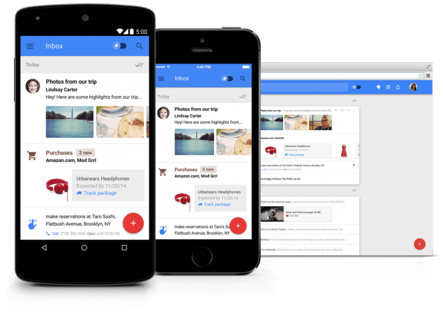 inbox gmail smart reply web by