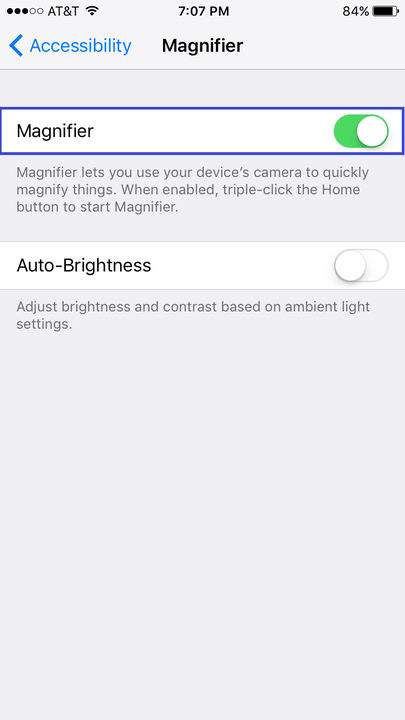 iphone  tips and tricks ios enable magnifier