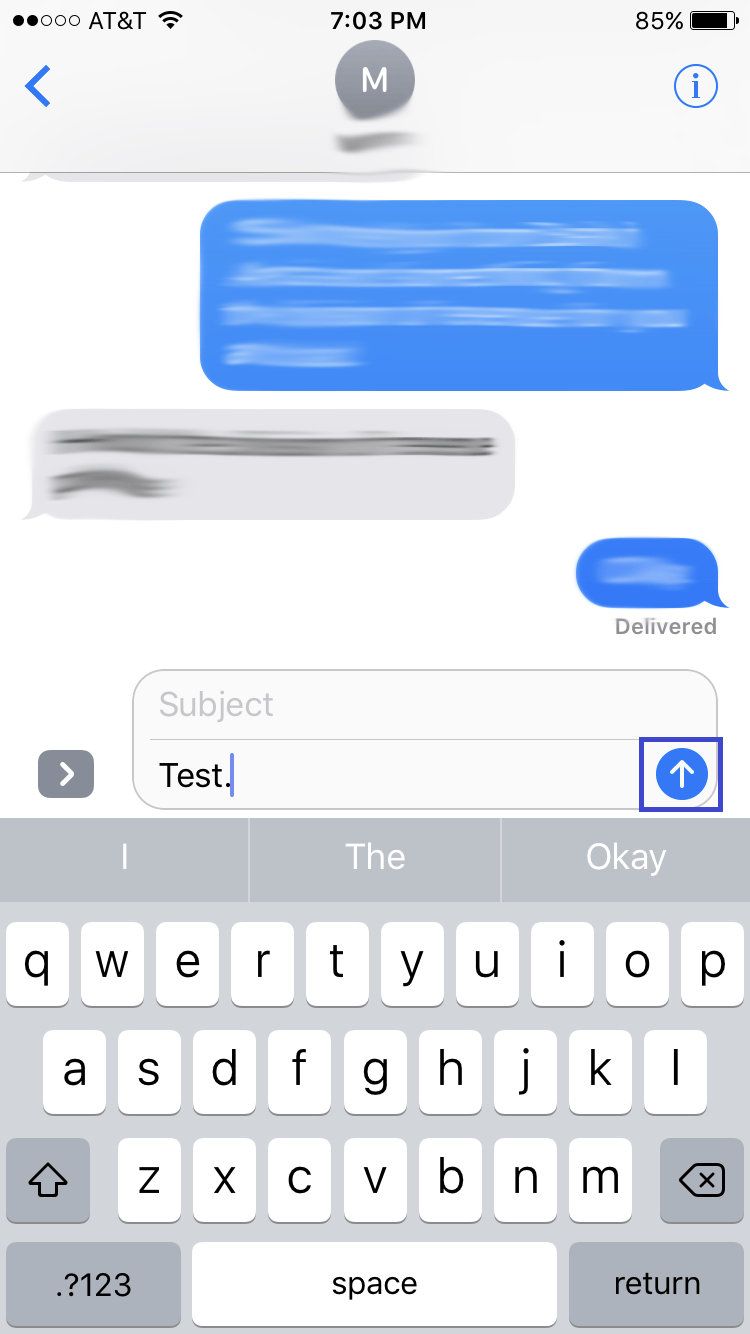 how to change imessage to text message on ios 10