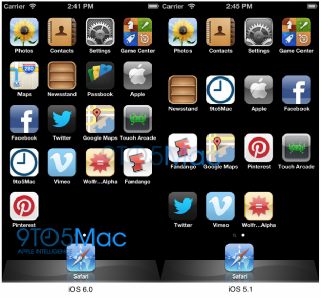 Tests show iOS 6 works with larger iPhone screen