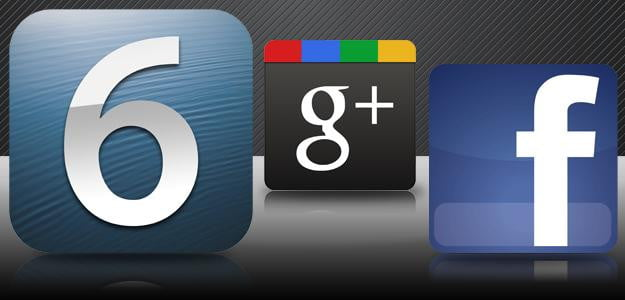 ios 6 competes with fb and google