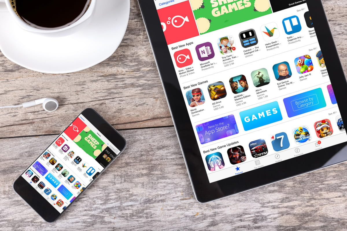 apple app store revamp ios iphone smartphone ipad tablet