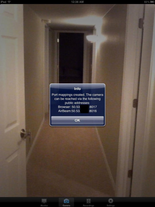 run your own nsa with apps that turn ios devices into spy cams security airbeam port settings