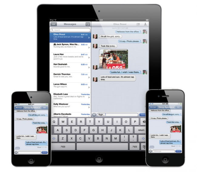 iOS 5 imessage