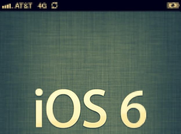 ios6 upgrade