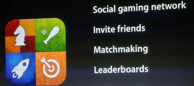 iOS Game Center features from the Apple keynote