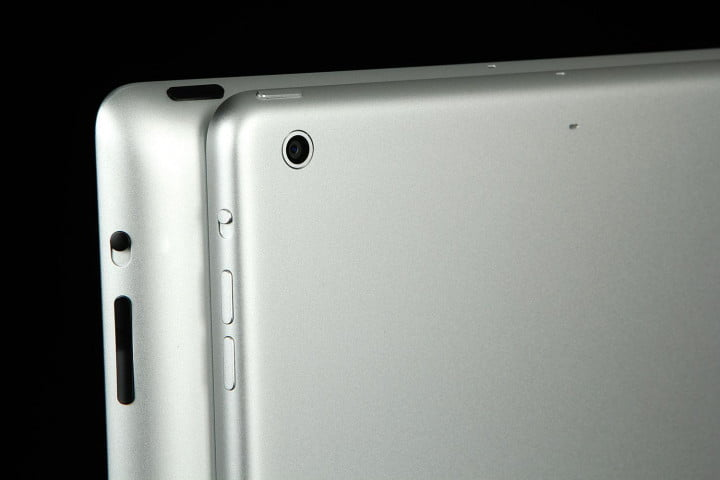 apple ipad air review back corner comparison