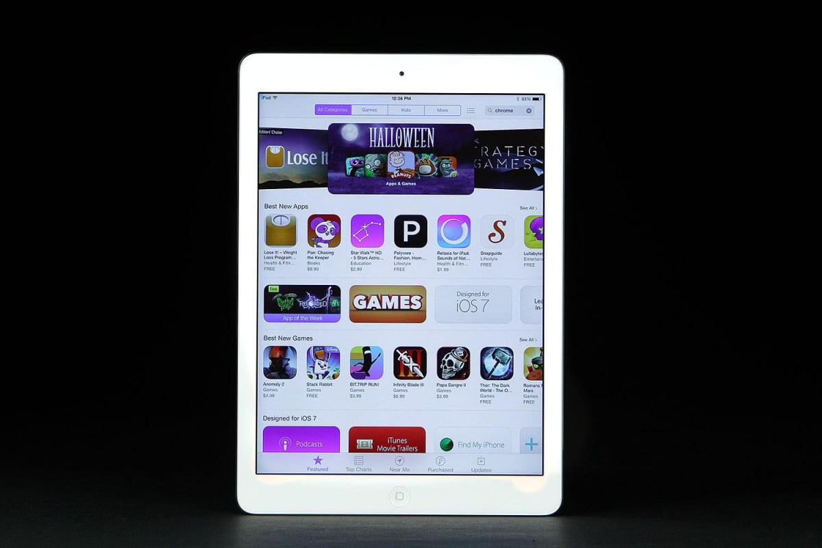 apple spells out to developers why it rejects their apps ipad air front app store