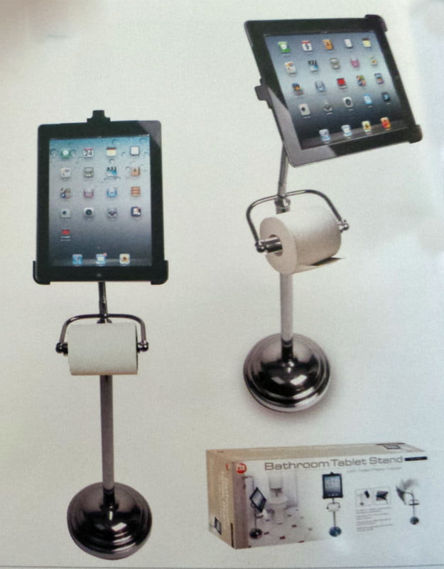 ipad bathroom tablet stand for