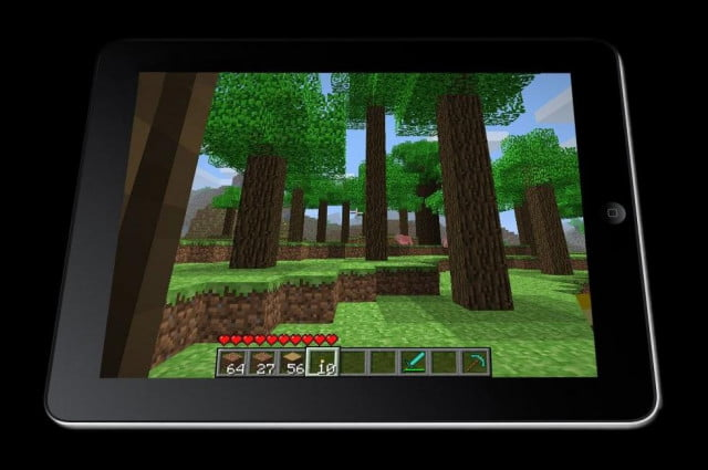 what minecraft and the ipad have in common