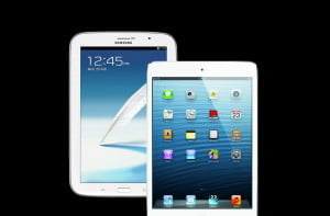 ipad mini vs samsung galaxy note 8.0 performance