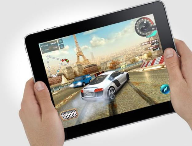 iPad tablet gaming
