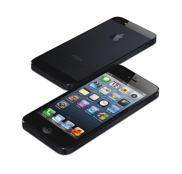 iPhone 5 Front and Rear