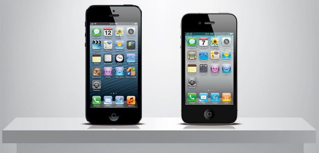 iPhone 5 vs iPhone 4s header