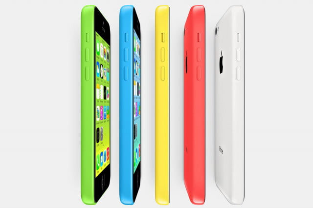 apple launches  gb iphone c color