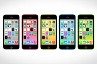 iphone 5c colors screen