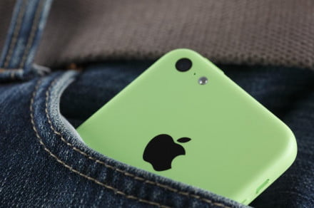 iPhone 5c pocket