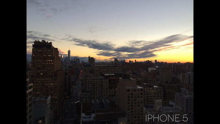 samsung galaxy s  zoom review iphone city night