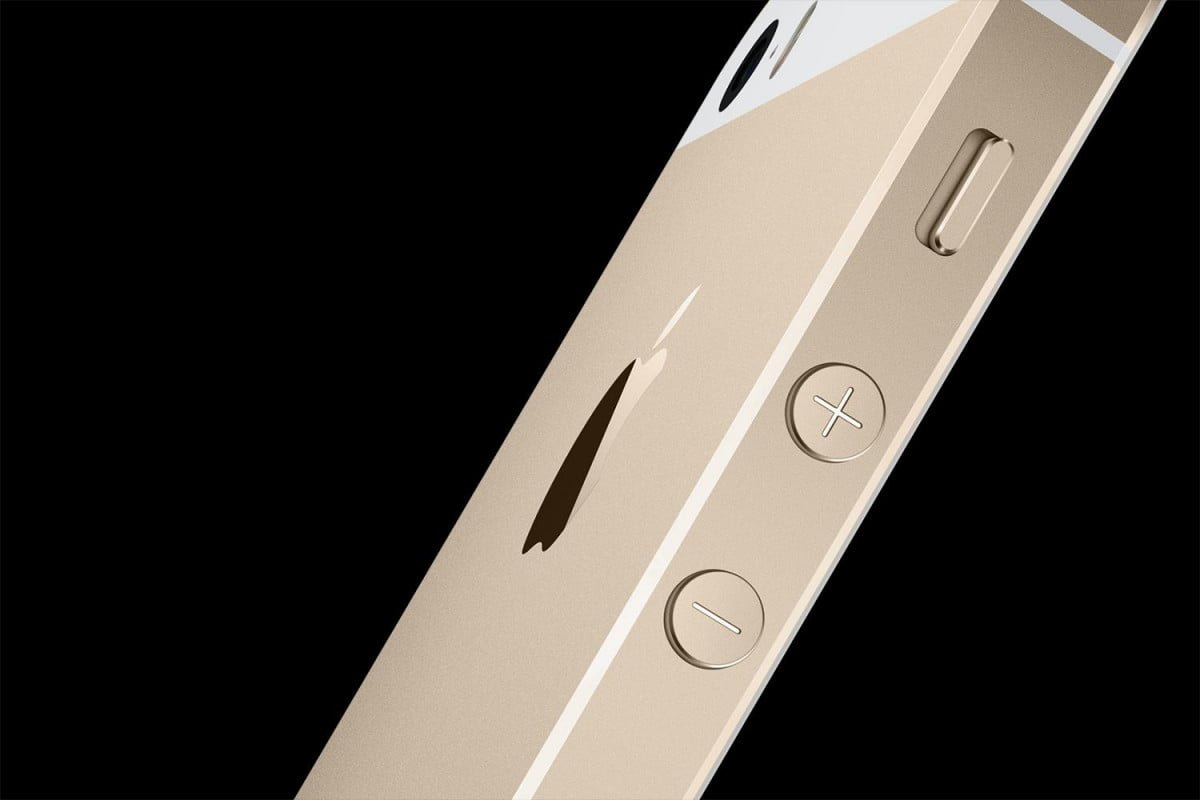 apple goes for gold in its first tv ad iphone  s side