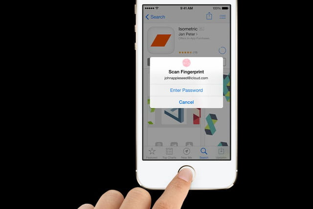 apple touch id fingerprint scanner hacked iphone  s touchid