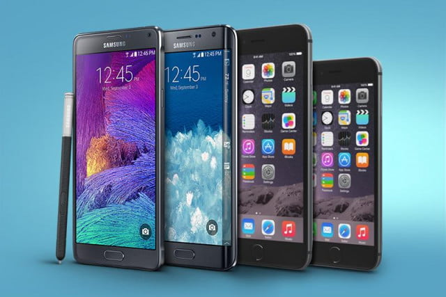 apple and samsung dominate u s smartphone sales combine for  percent market share iphone