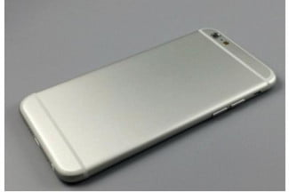 iPhone 6 Mock Up Silver Rear