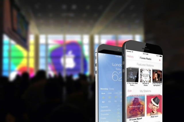 larger iphone  may have faster processor mockup