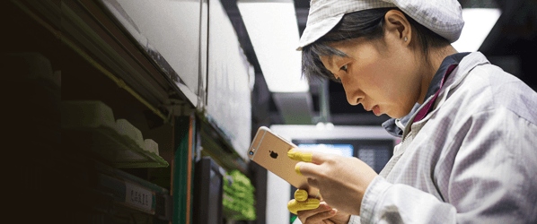 iPhone builder Foxconn just replaced 60,000 employees with robots