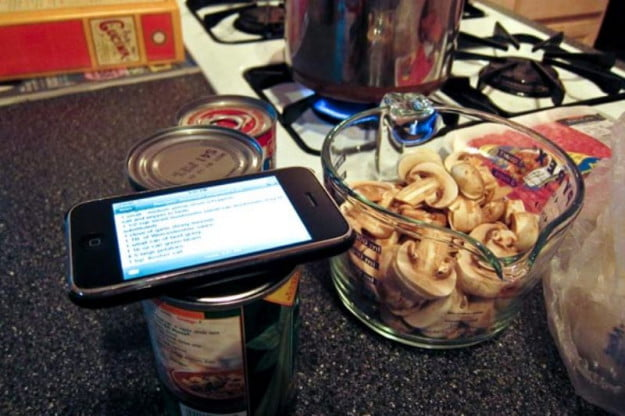 mobile cooking apps